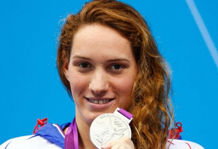 Camille Muffat, nadadora olímpica. | parismatch.com