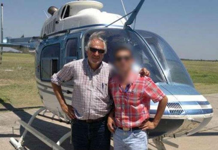 Roberto César Abate piloteaba uno de los helicópteros de la tragedia. Era oriundo de Santiago del Estero. | Facebook