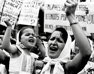 dictadura argentina madres mayo